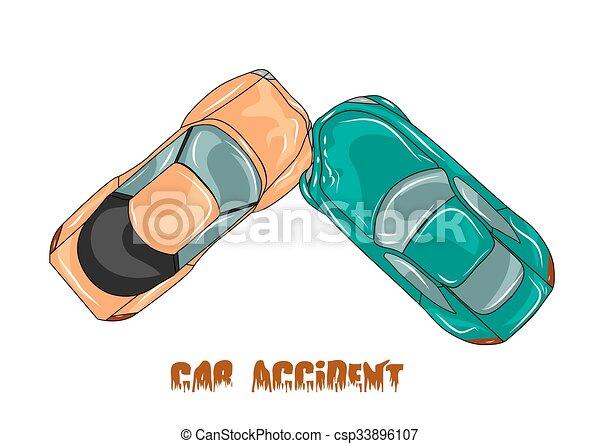 car accident - csp33896107