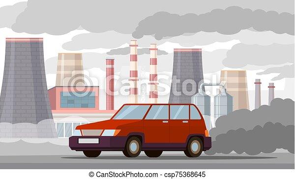 Car Co2 Stock Illustrations – 1,638 Car Co2 Stock Illustrations, Vectors &  Clipart - Dreamstime