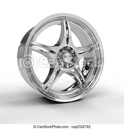 Car alloy rim - csp2332742