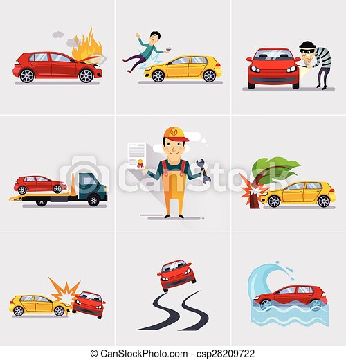 Car and Transportation Insurance  - csp28209722