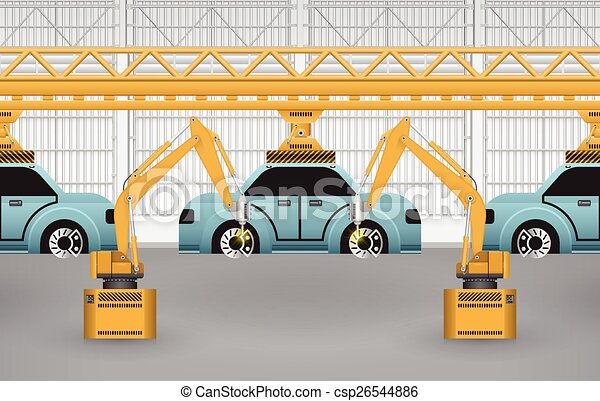 Car assembly - csp26544886