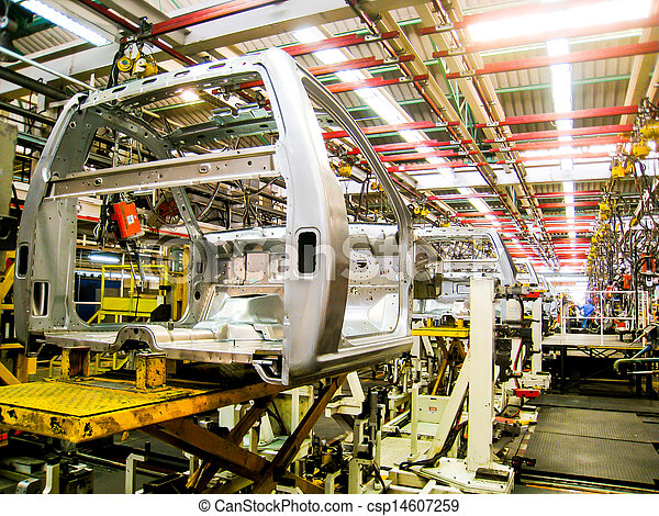 Car assembly line2 - csp14607259