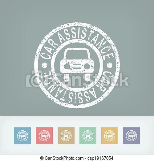 Car assistance print - csp19167054