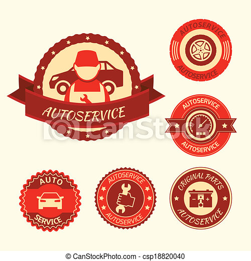 Car auto service set - csp18820040