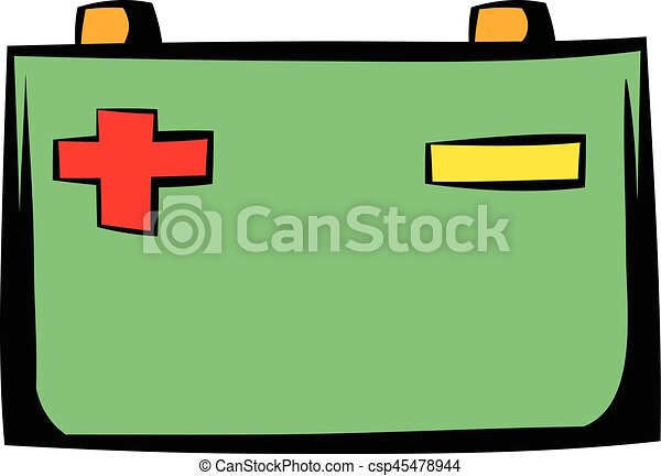 car battery icon cartoon car battery icon in cartoon style eps rh canstockphoto com battery clipart battery clipart free
