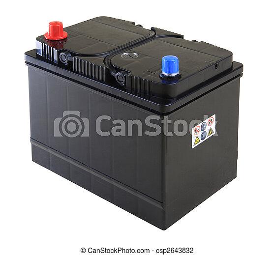 car battery - csp2643832