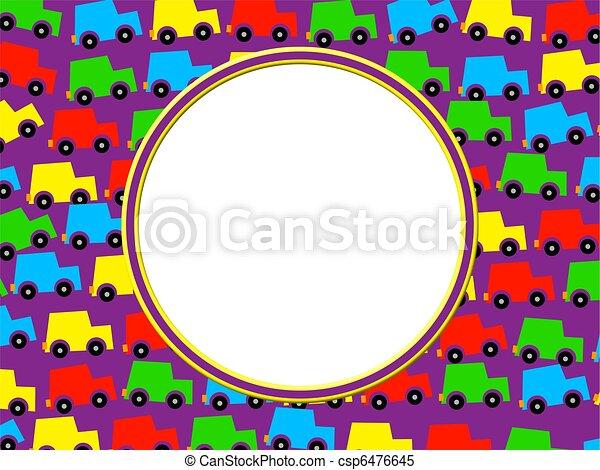 colorful frame border design. Perfect Frame Car Border  Csp6476645 Intended Colorful Frame Design