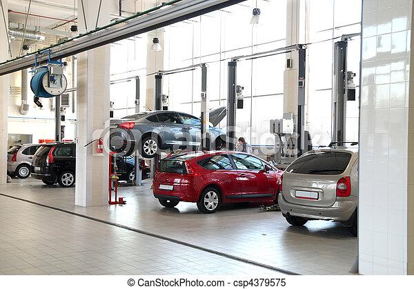 car-care, műhely - csp4379575