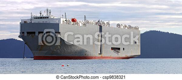 Car Carrier Ship - csp9838321