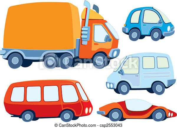 Car collection - csp2553043