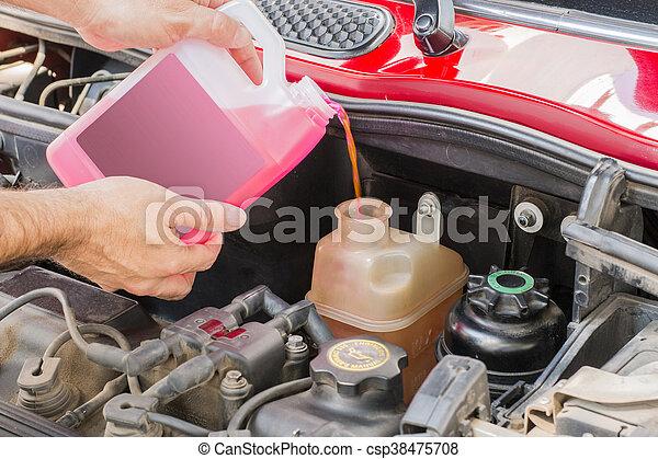 car coolant - csp38475708