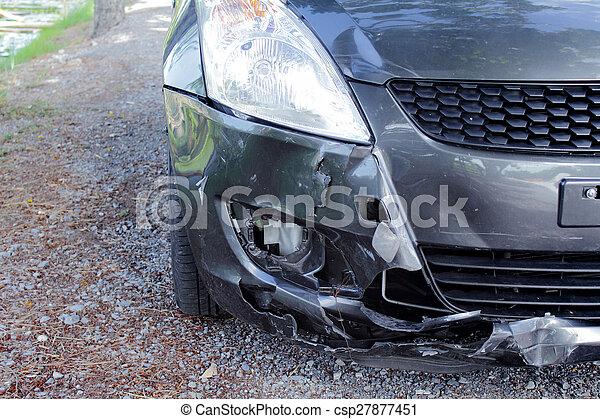 Car crash accident - csp27877451
