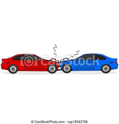 Car crash - csp18343796