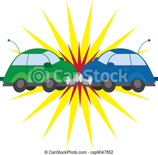 Car Crash  - csp9047852