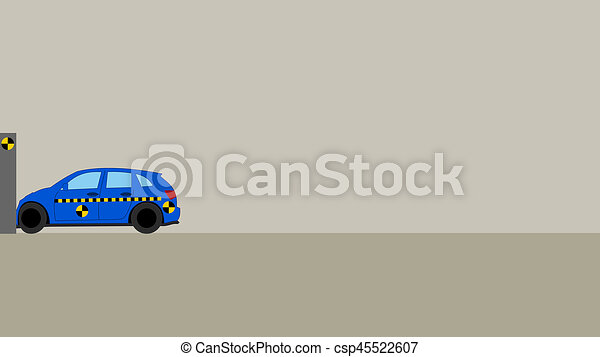 Car crash test stock illustration - Search Clipart, Drawings and ...