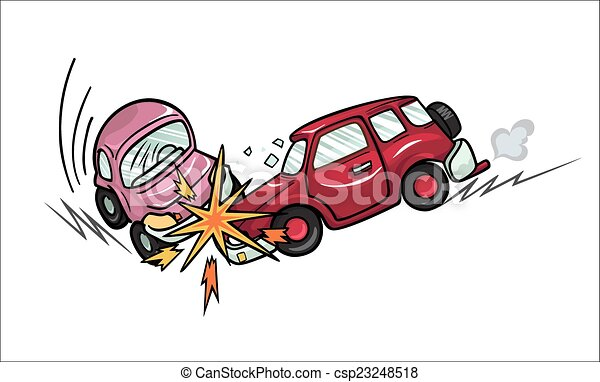 Car crash. - csp23248518