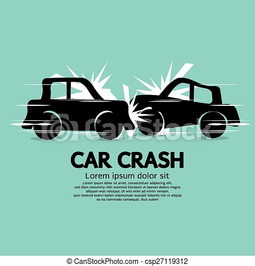 Car Crash. - csp27119312