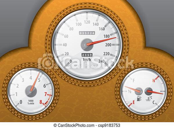 Car Dashboard - csp9183753