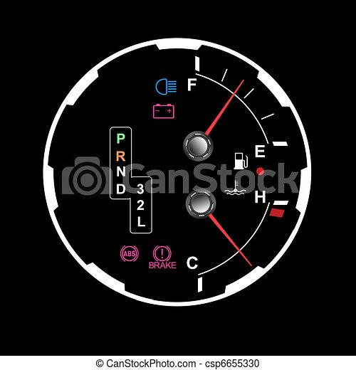 car dashboard - csp6655330