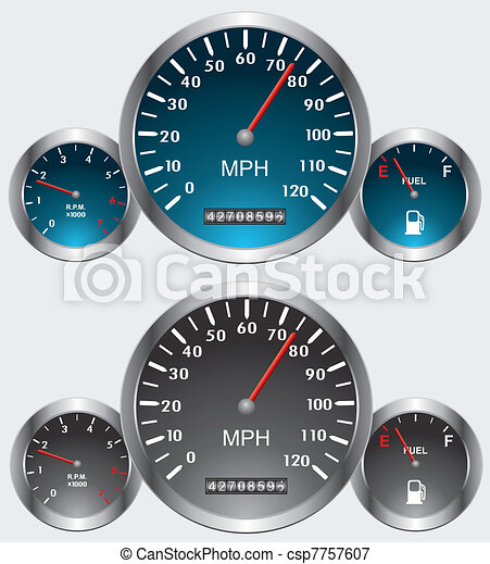 car dashboards - csp7757607