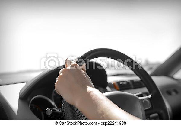 Car driver - csp22241938