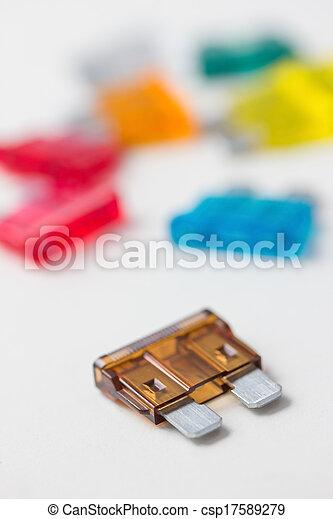 car fuses - csp17589279