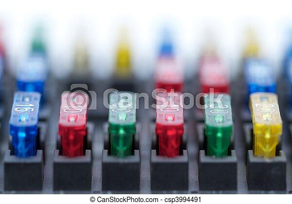 Car fuses - csp3994491