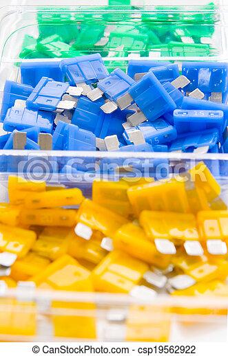 Car fuses - csp19562922