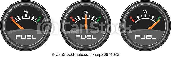 Car Gauges (gas, dashboard) - csp26674623