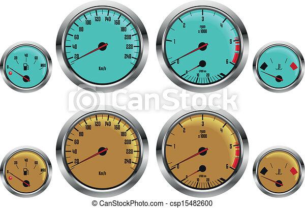 car gauges - csp15482600