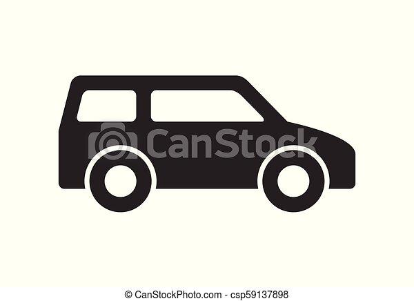 Car icon - csp59137898