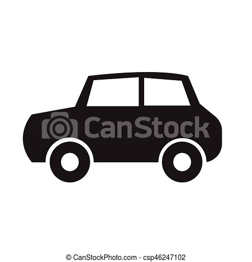 Car icon vector illustration - csp46247102