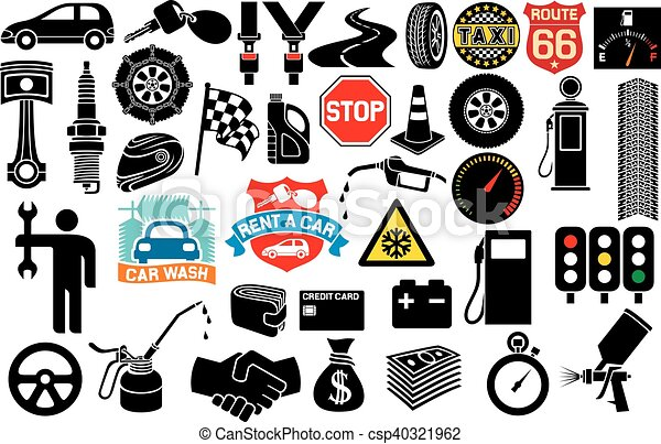 car icons collection - csp40321962