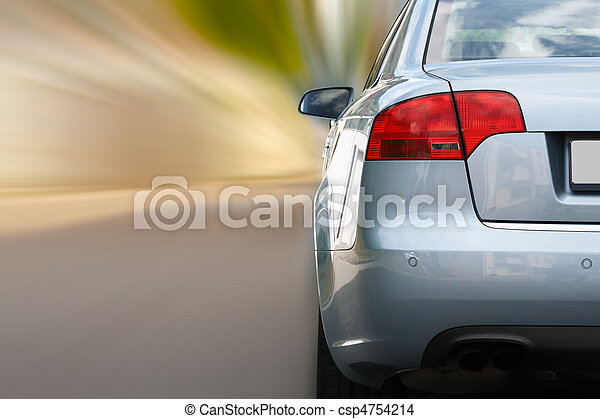 Car in motion - csp4754214