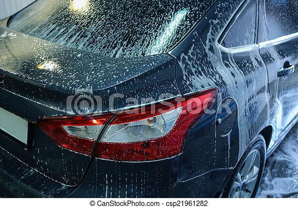 car in penalty fee on car wash - csp21961282
