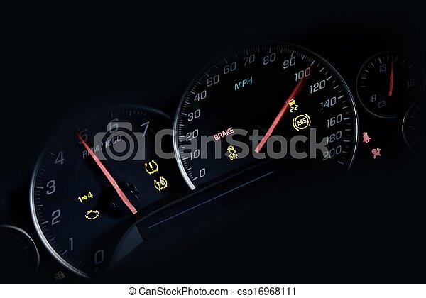 Car Instruments Dash - csp16968111