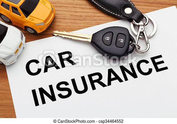 Car insurance concept - csp34464552