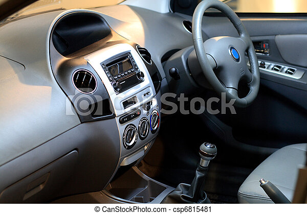 Car interior - csp6815481