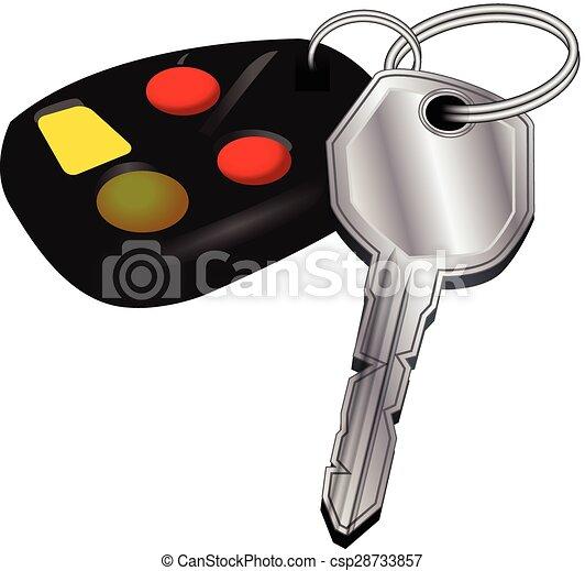 CAR KEYS - csp28733857