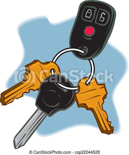 Car Keys - csp22044528