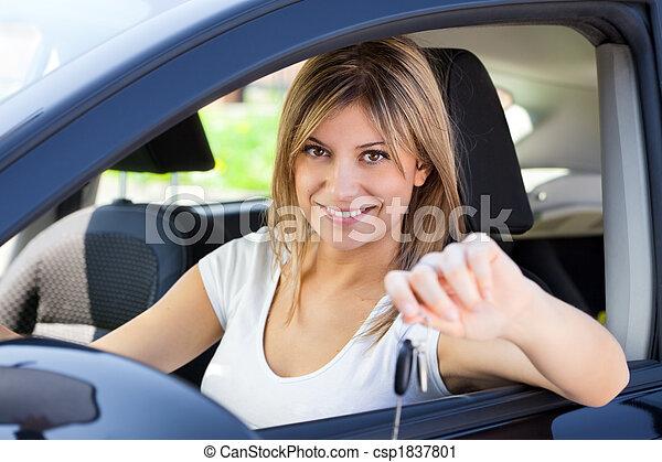 car keys - csp1837801