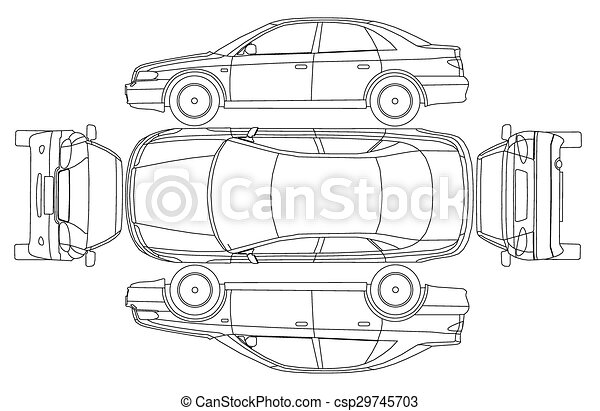 Car line crash isurance protocol - csp29745703