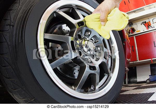 Car maintenance - csp15214129