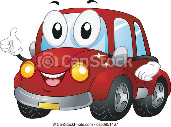 Car Mascot - csp8951467
