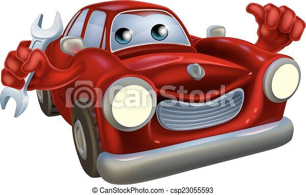 Car mechanic - csp23055593