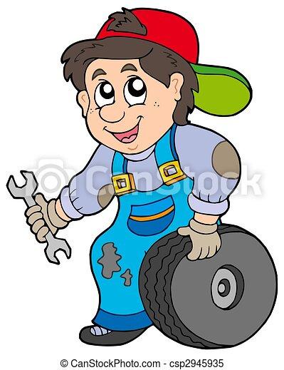 Car mechanic - csp2945935