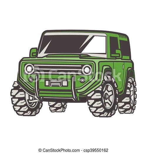 car off-road 4x4 suv trophy truck - csp39550162