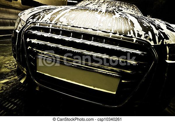 car on car wash - csp10340261