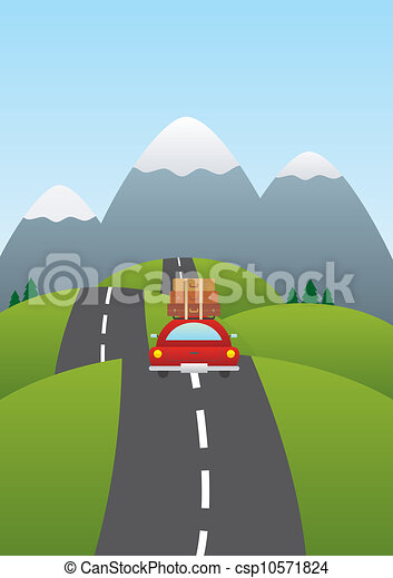 Car on the road - csp10571824