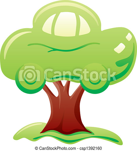 Car on tree - csp1392160